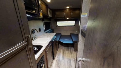 The view stepping out of the bathroom door.. Jayco Jay Flight 2021
