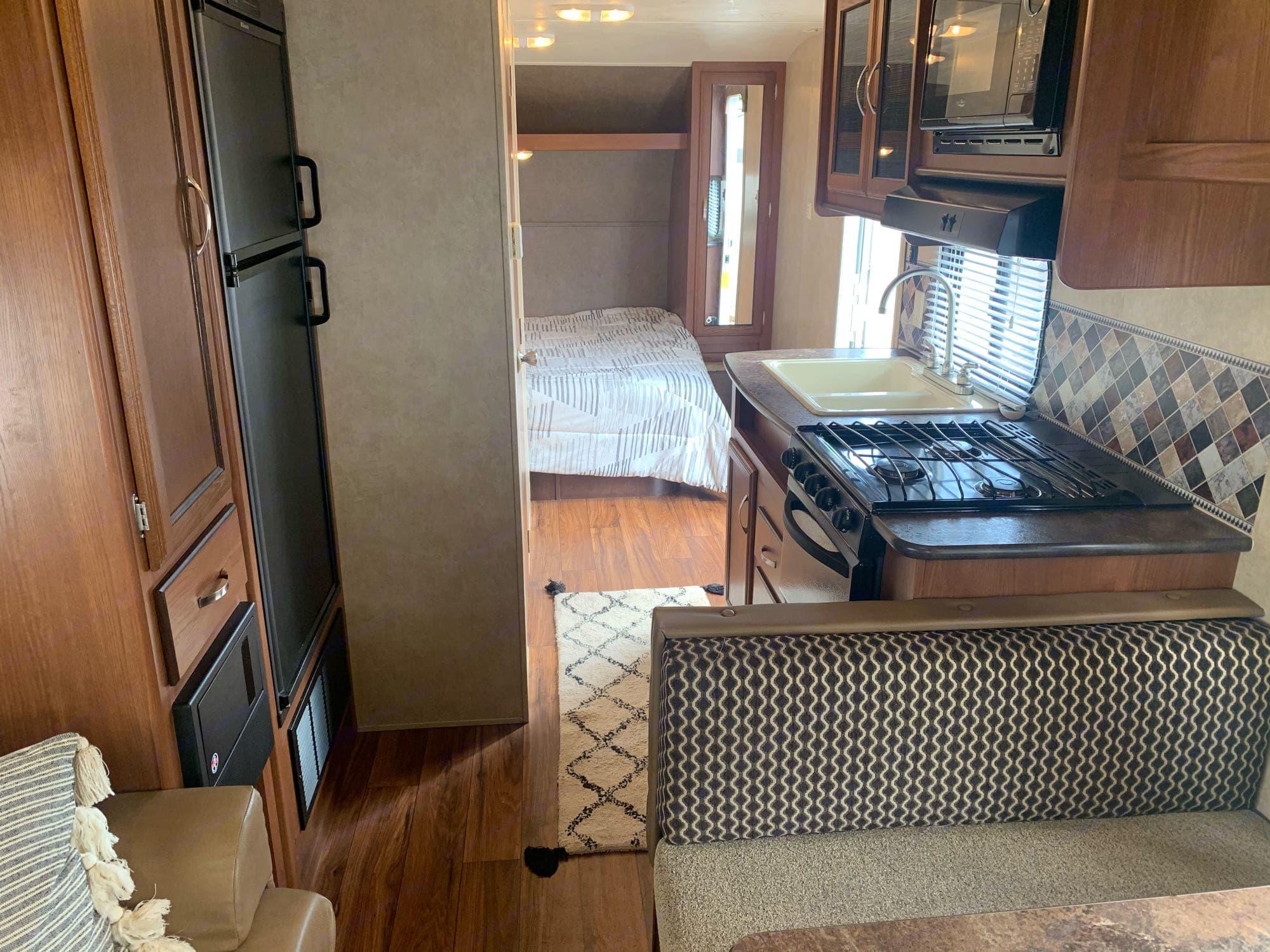 kitchen area. Forest River Salem Cruise Lite 2016
