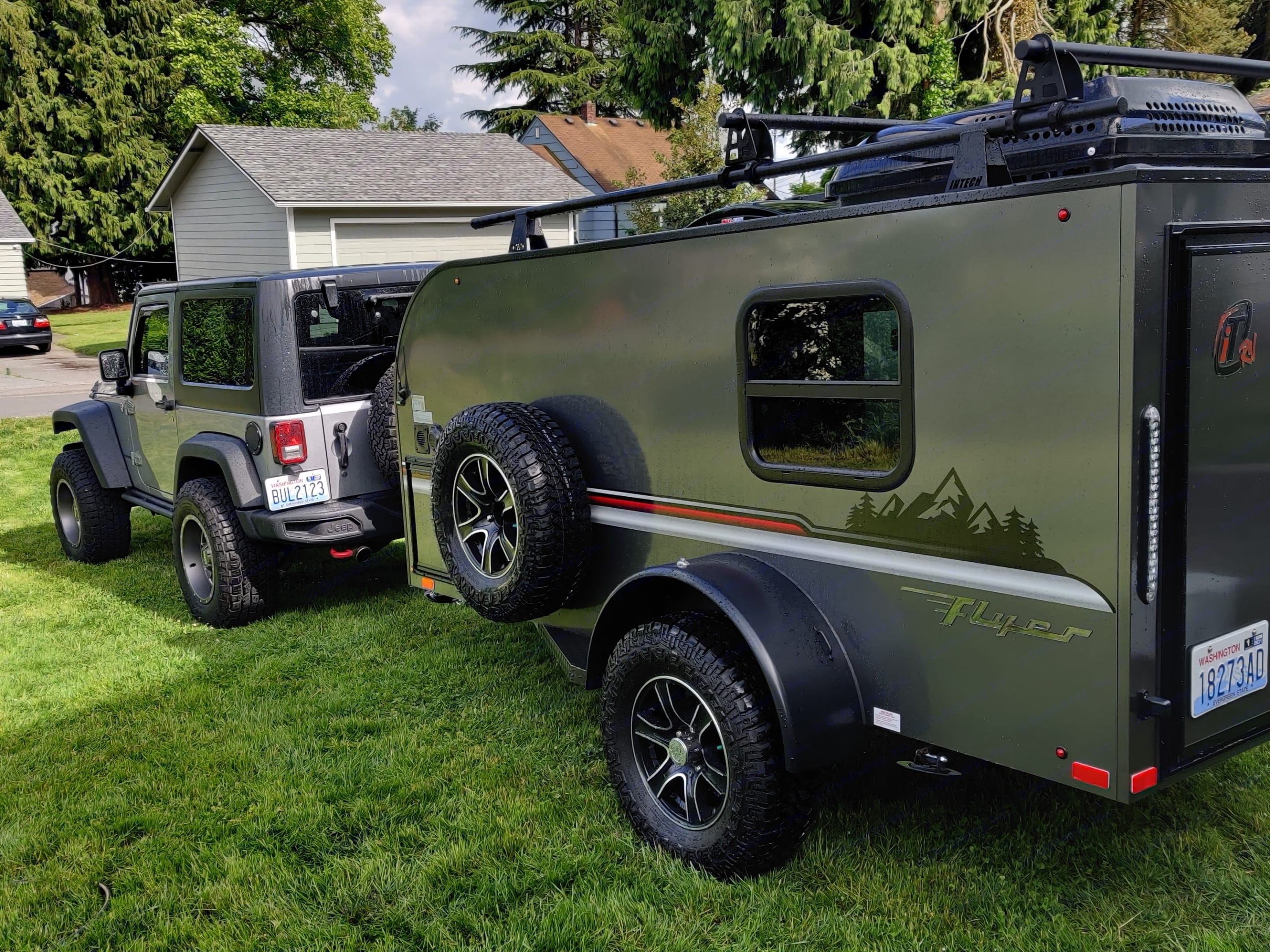 We tow the trailer with our F150 or our Jeep Rubicon.. Other Other 2020
