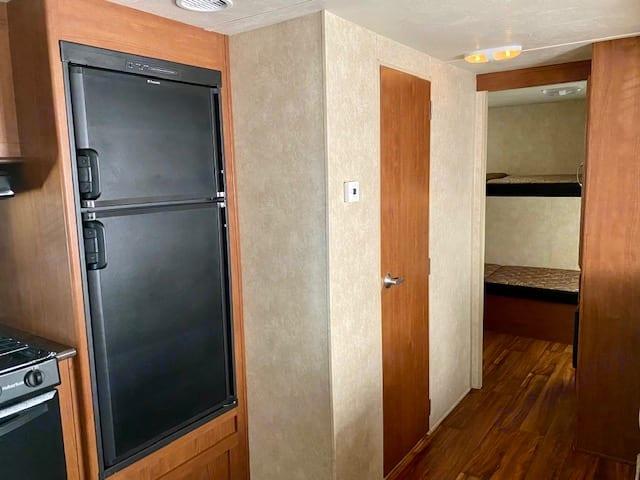Kitchen, bathroom door and bunk room. Forest River Other 2015