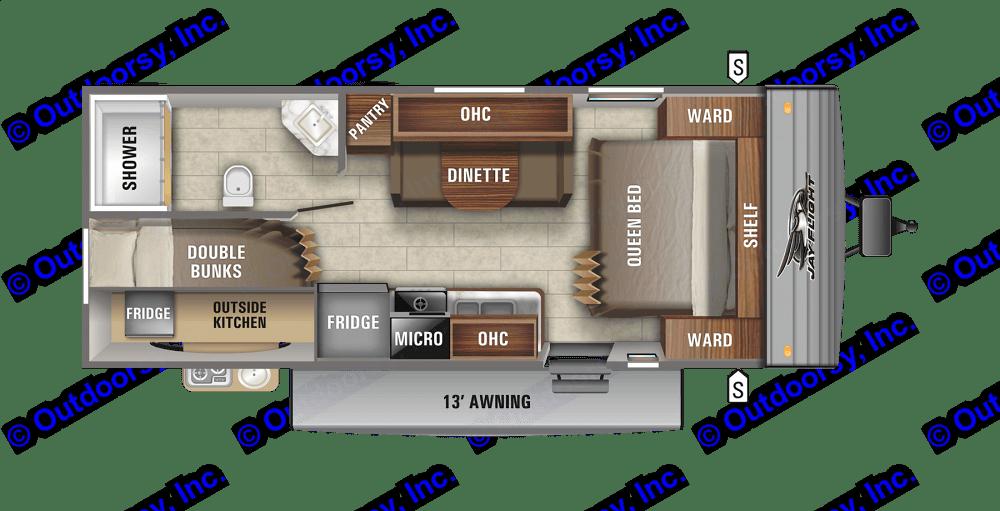 Floorplan. Jayco Flight 2020