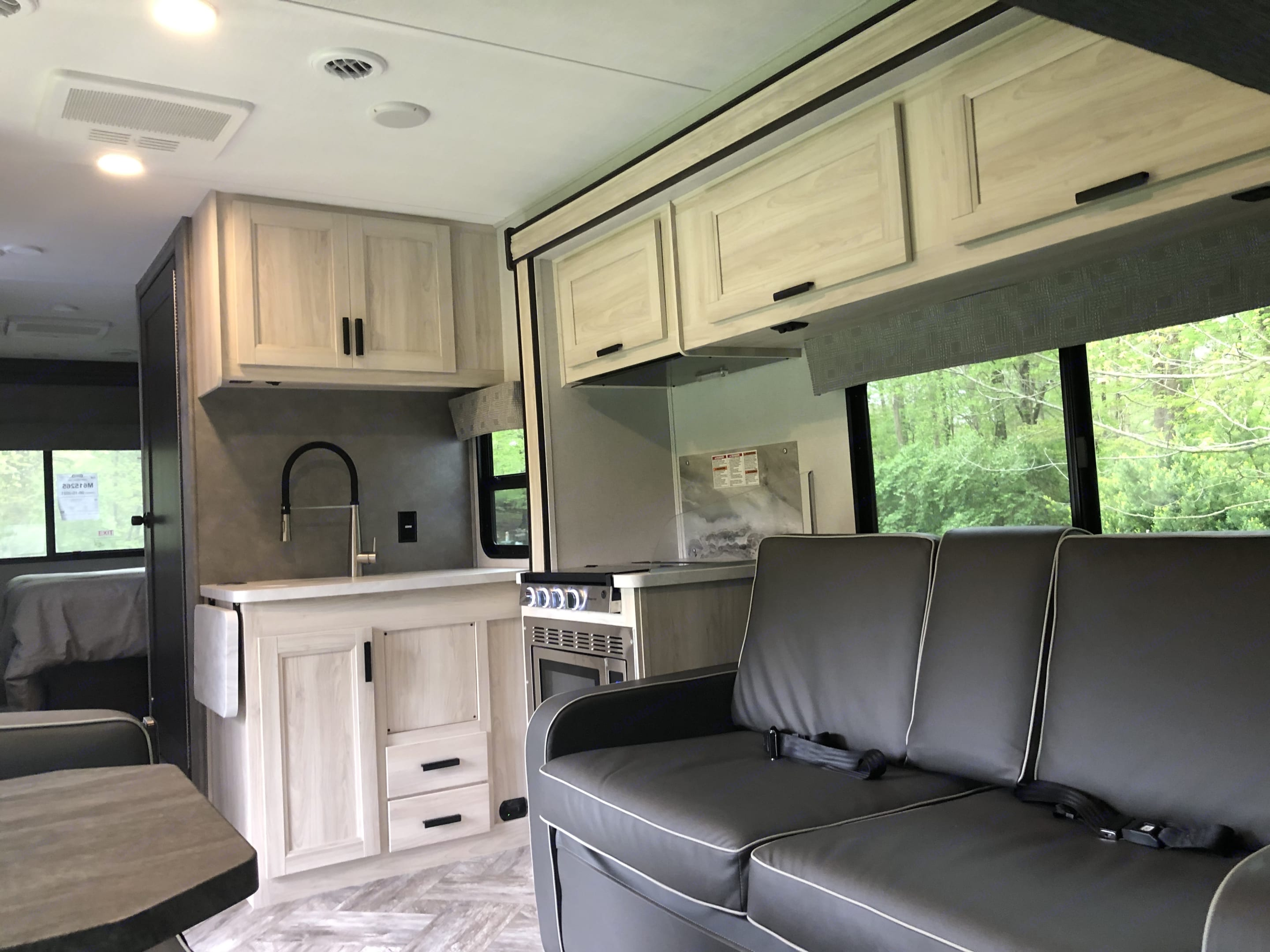 Comfy Couch. Forest River Sunseeker 2021
