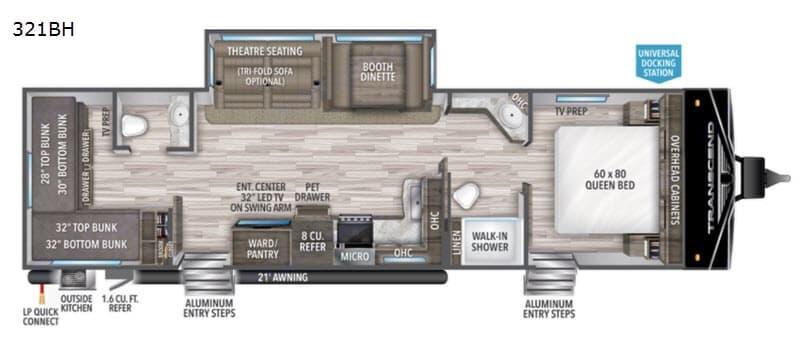 Grand Design 321bh 2021