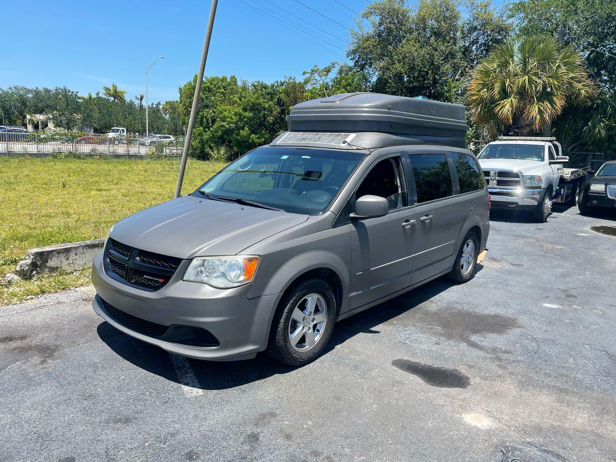 NEW PAINT JOB. Dodge grand caravan 2012