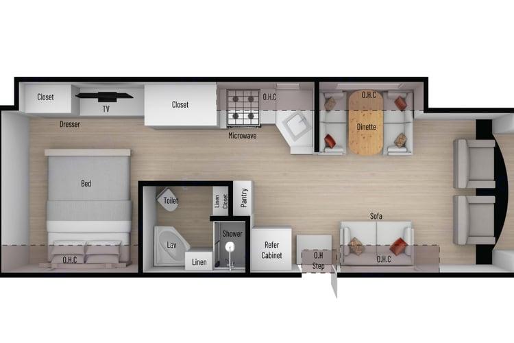 Floorplan. Nexus Triumph 30T 2021