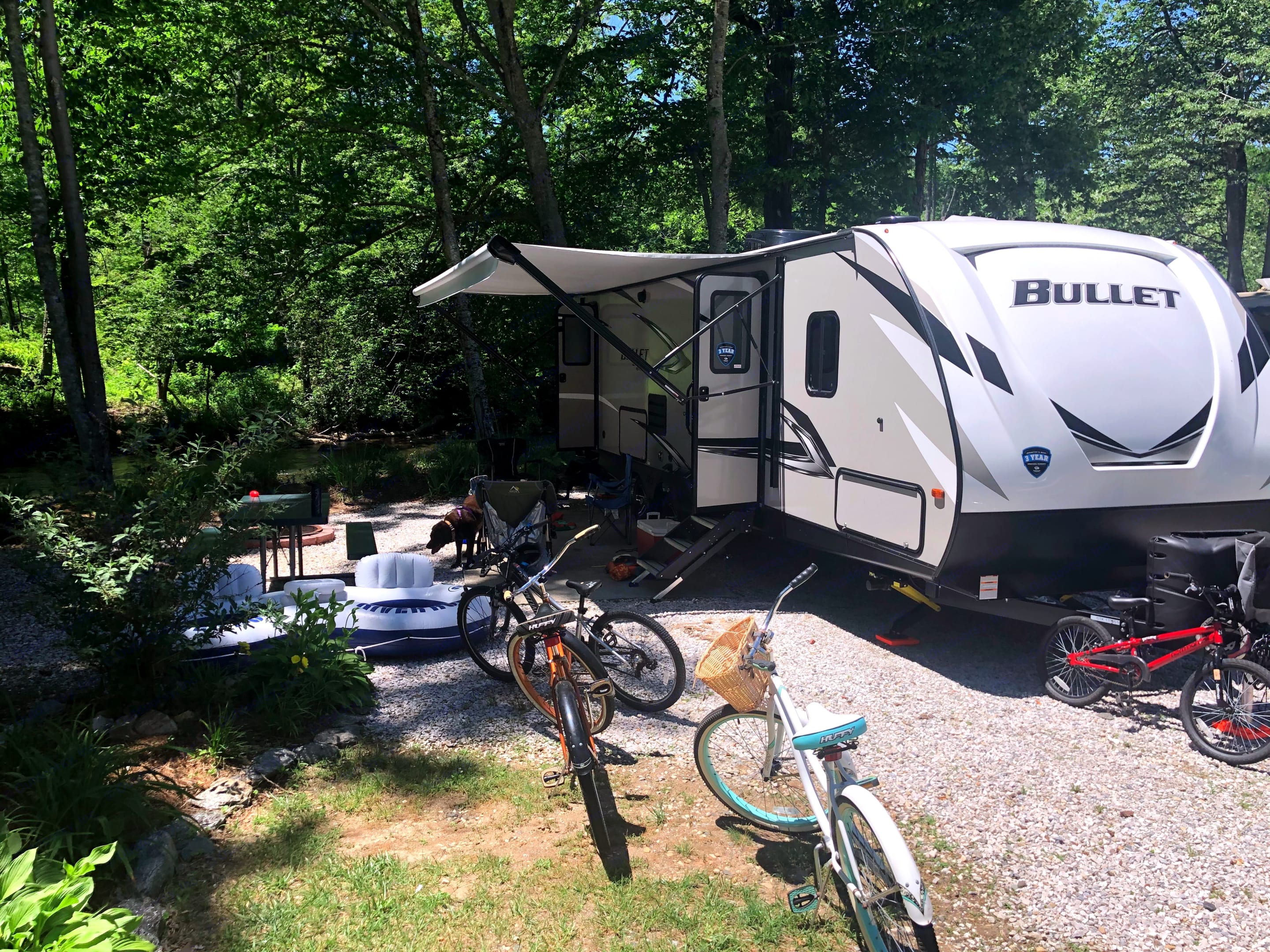 Ask us for local campsite recommendations. . Keystone Bullet 2020