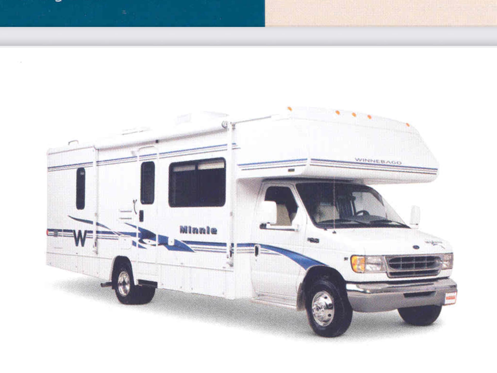 Minnie is a great size for a family or group!. Winnebago Minnie 2003