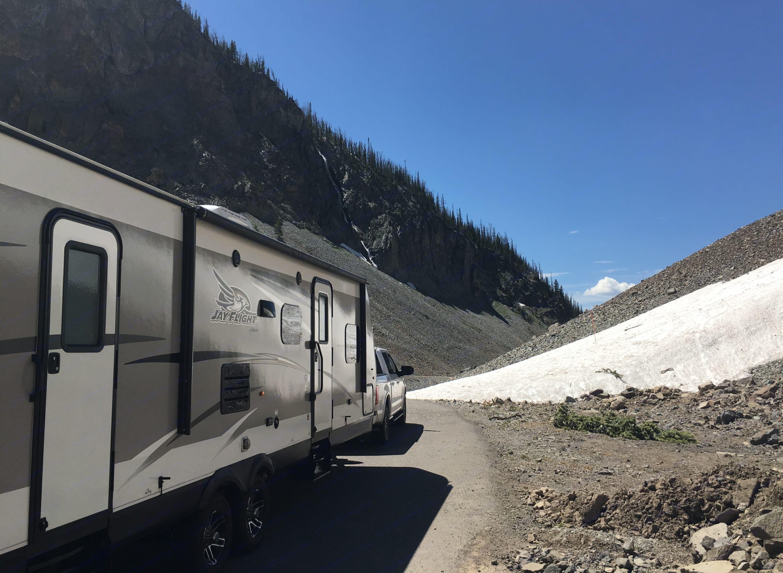 Yellowstone National Park Trip. Jayco Jay Flight 28BHBE 2017