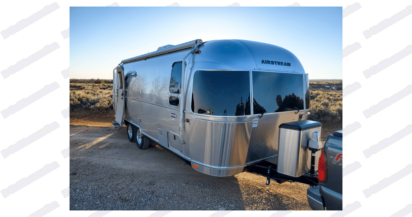The ultimate glamping experience in the Airstream Serenity! . Airstream International 2018