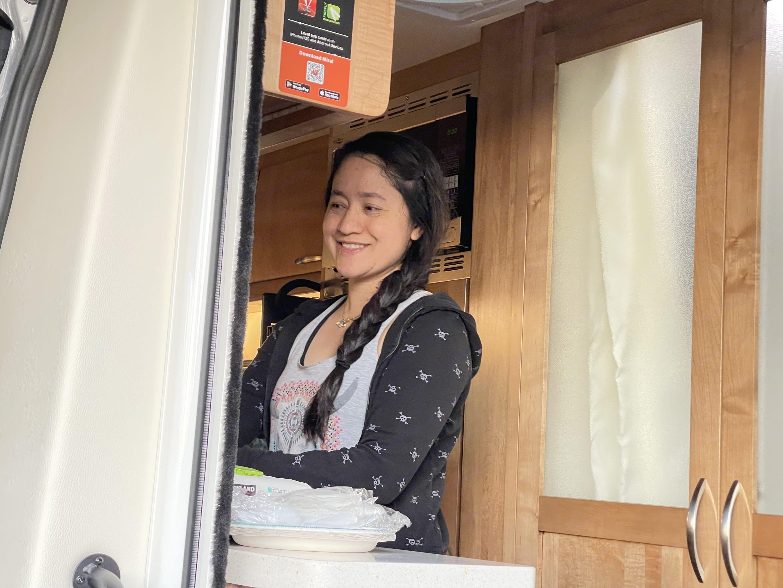 My Babe on dish washing duty.. Coachmen Other 2021