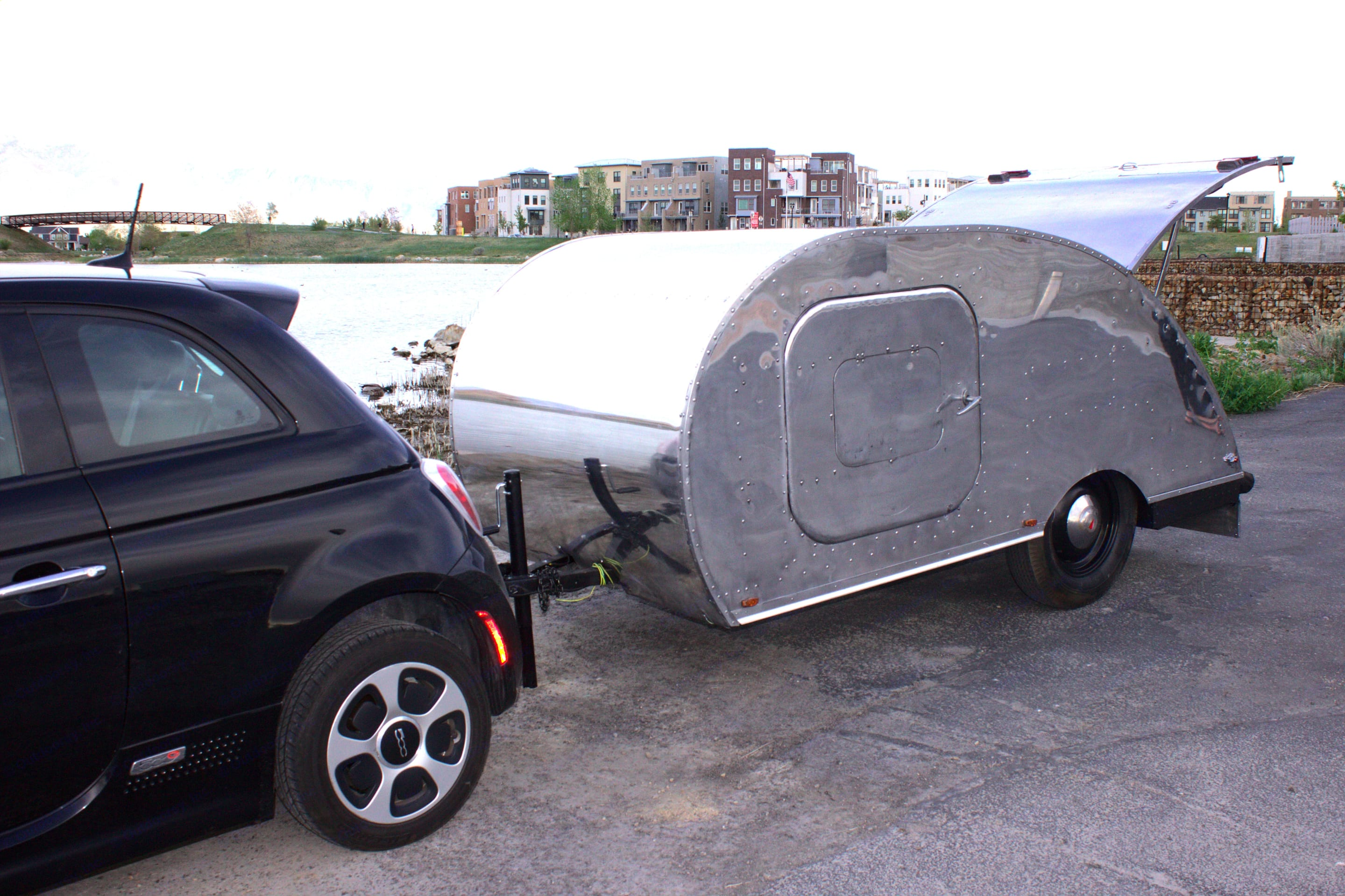 Can be towed by a car! Super light and easy to tow!. Other Other 2020