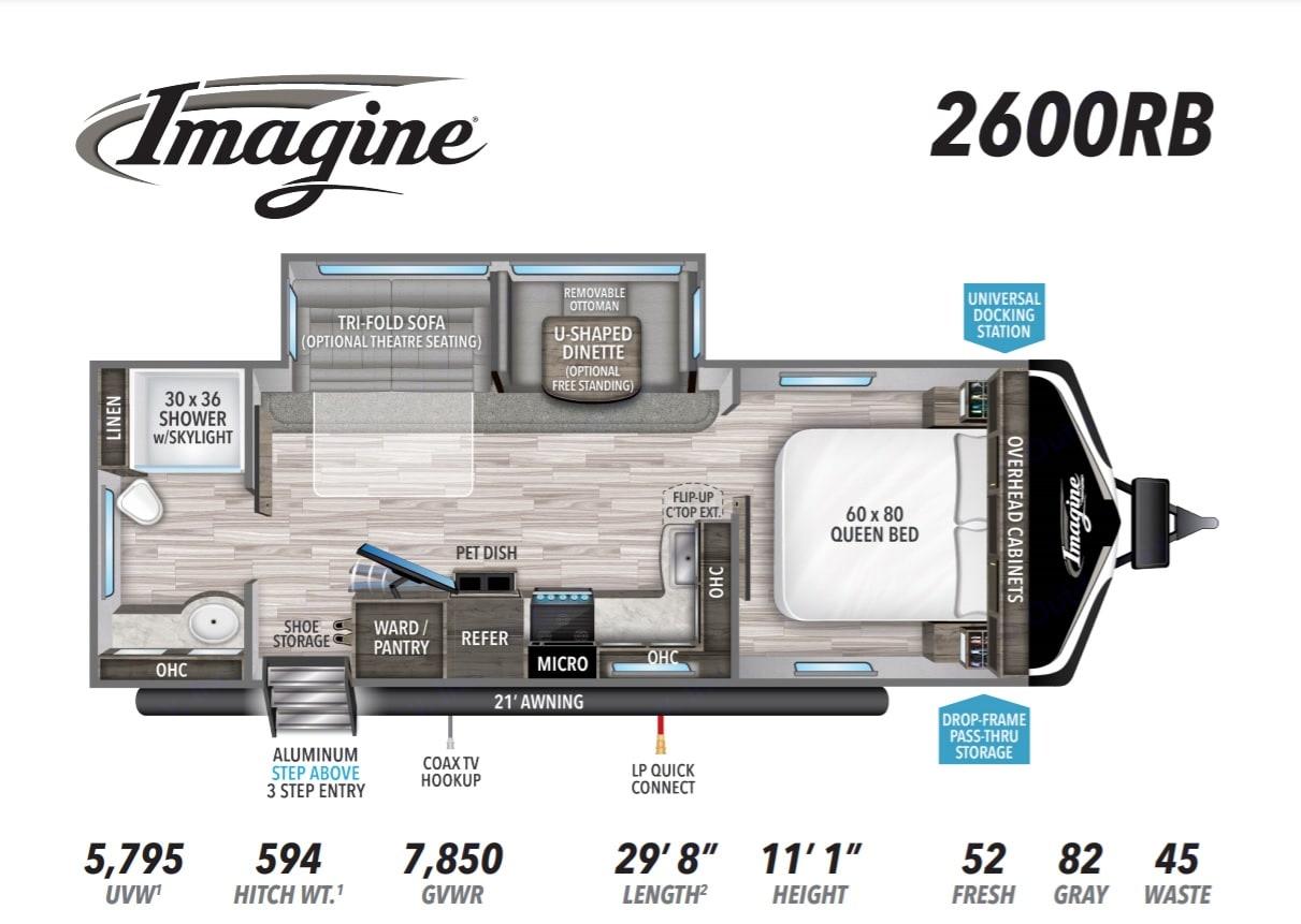 Grand Design Imagine 2600RB 2021