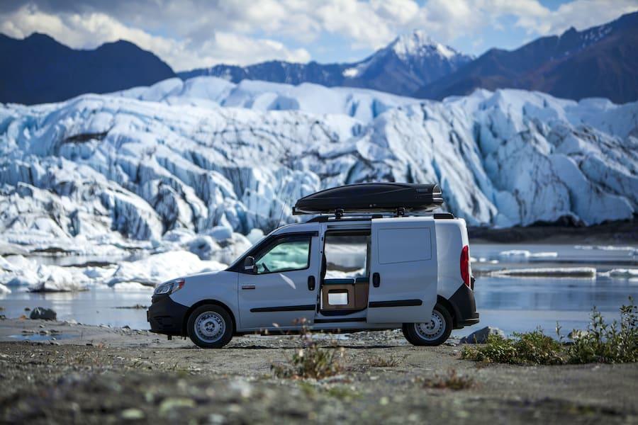 Matanuska Glacier. RAM Promaster City 2020