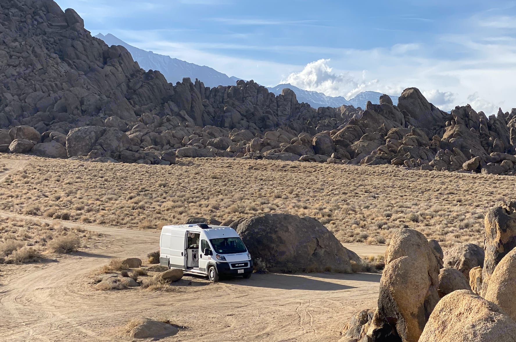 Open the sliding door and let the breeze waft in. Check out those boulders!. Dodge Other 2019