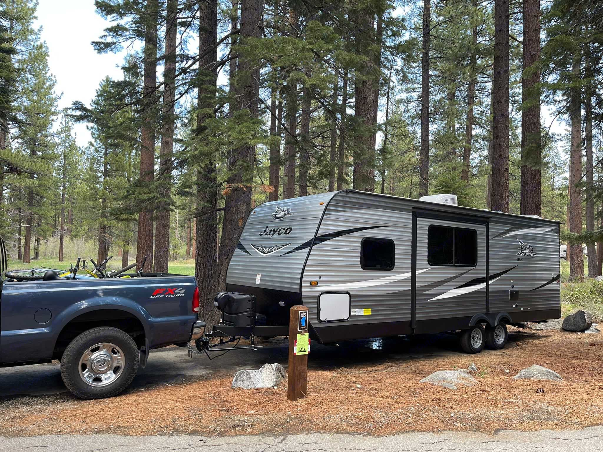 driver side, slide out and outdoor shower. . Jayco Jay Flight 2021