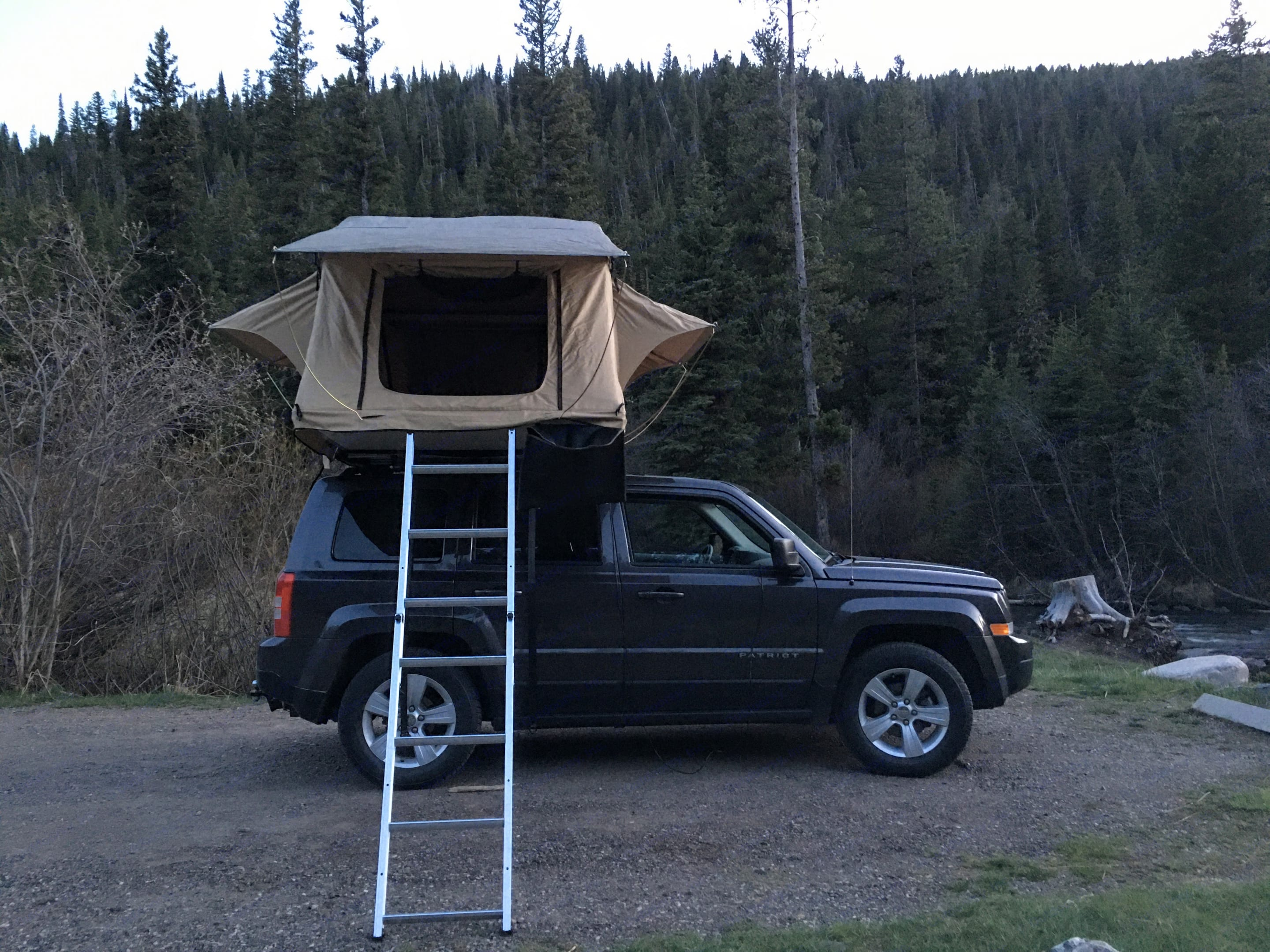 We provide detailed instructions on roof top tent setup and a detailed equipment list shortly before your trip.. Jeep Patriot 2016