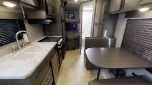Dining Room Table/Additional Sleeping Area . Jayco Flight 2020
