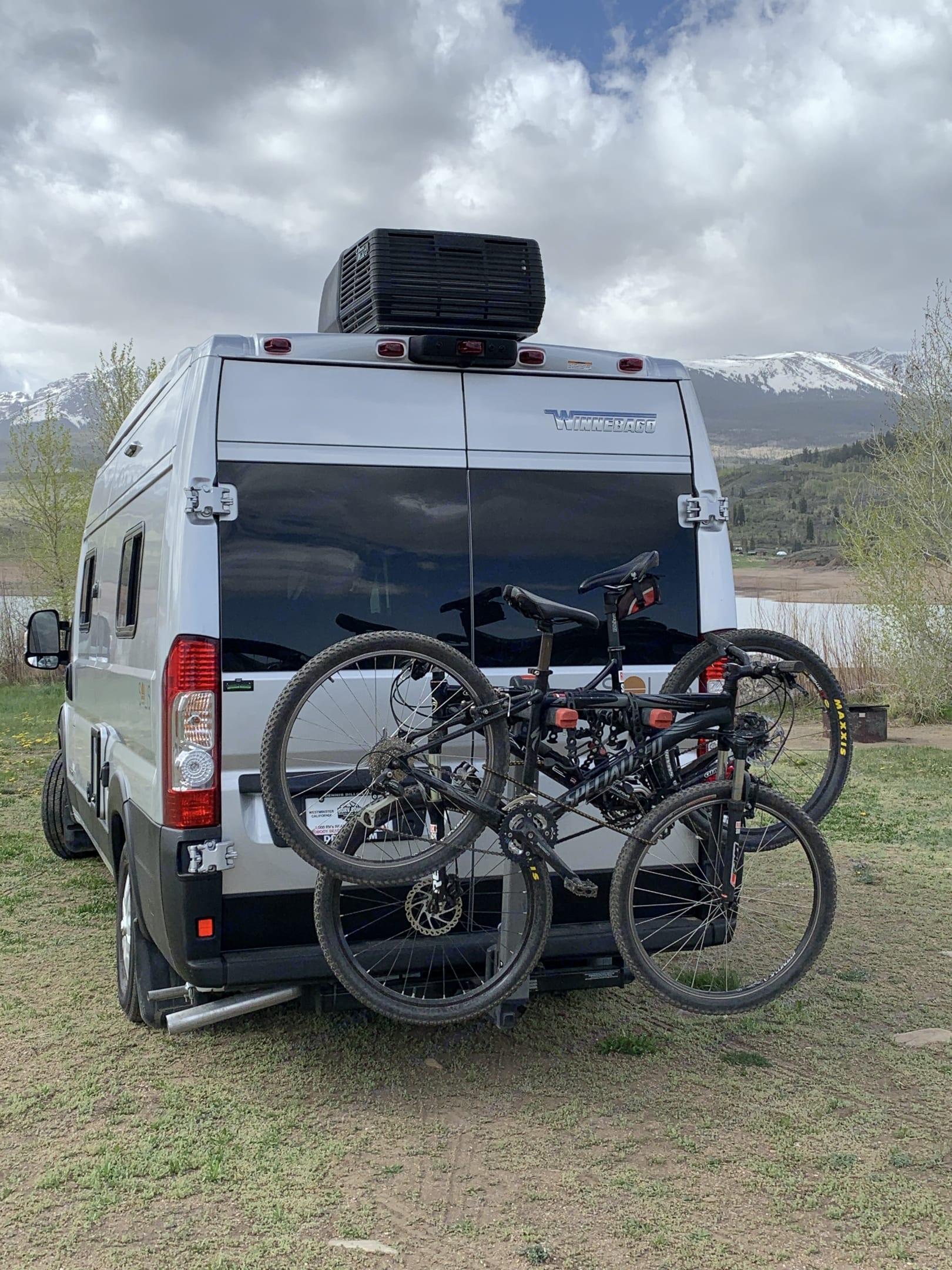 Easily add a bike rack. Winnebago Solis 59PX 2022