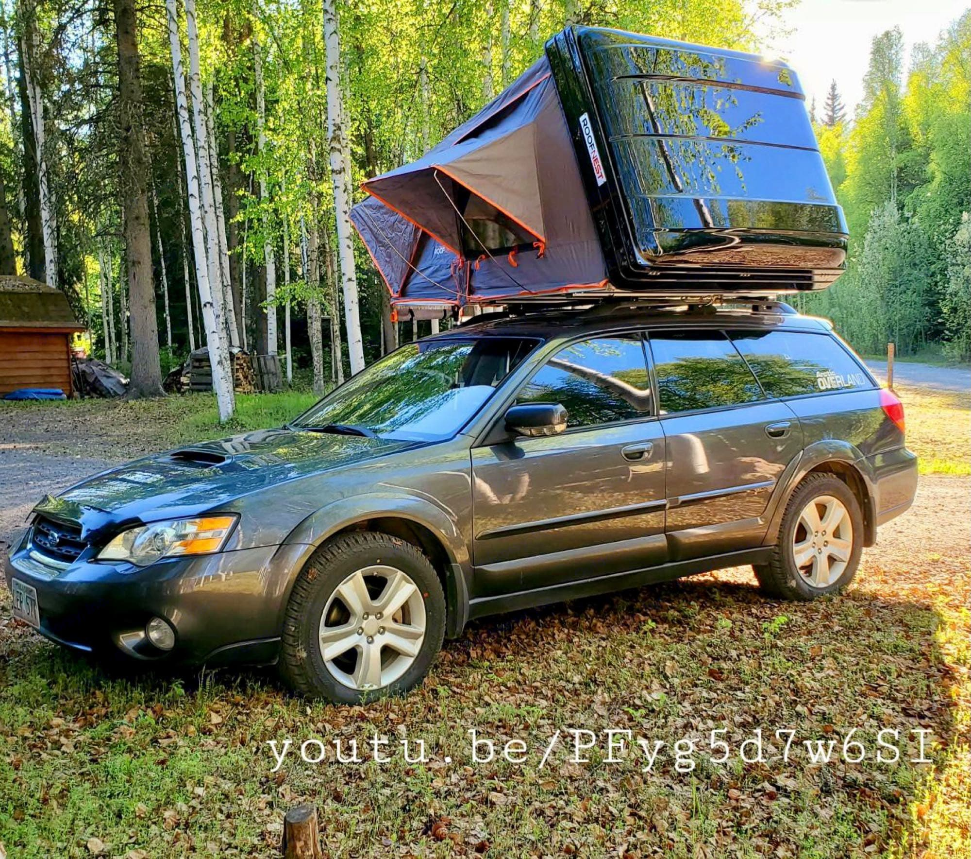 use the link to see how to use the tent. Subaru Outback 2007