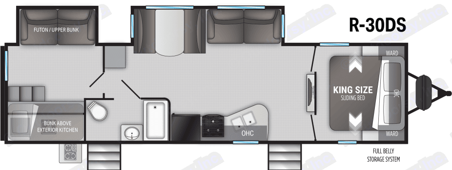 Cruiser Rv Corp 30DS 2021