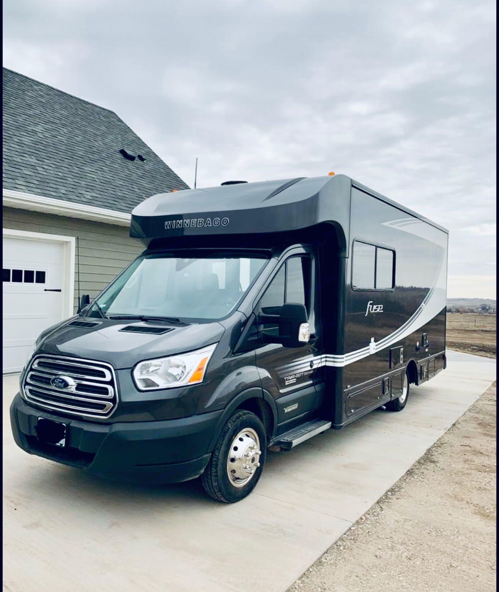 Fully loaded, drive in luxury!!! . Winnebago Ford Transit Winnebago Motorhome 2018