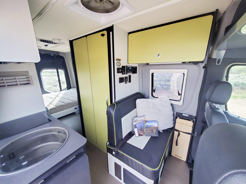 The Revel has a spacious floorplan with lot of room! . Winnebago Revel 2020
