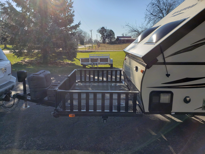 Cargo Deck. Forest River Rockwood 2016