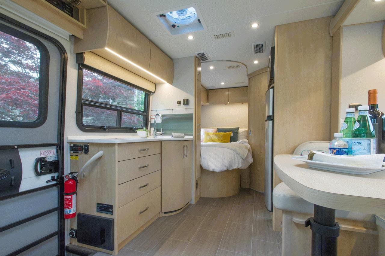 Plenty of living space. Leisure Travel Unity 2018