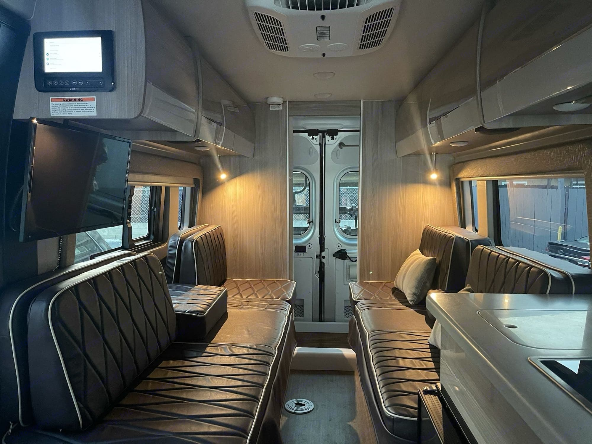 New stain resistant upholstery. Thor Motor Coach 2021 Sequence L 2021