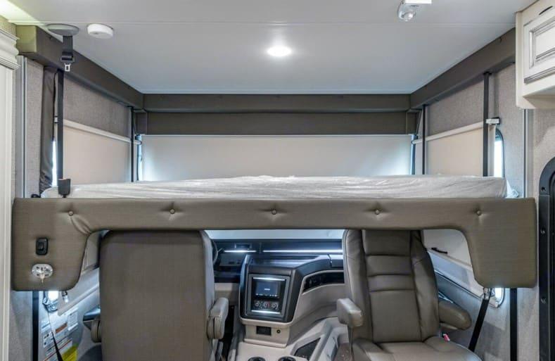 Bunk Bed over Cab. Entegra Coach Vision XL 2021