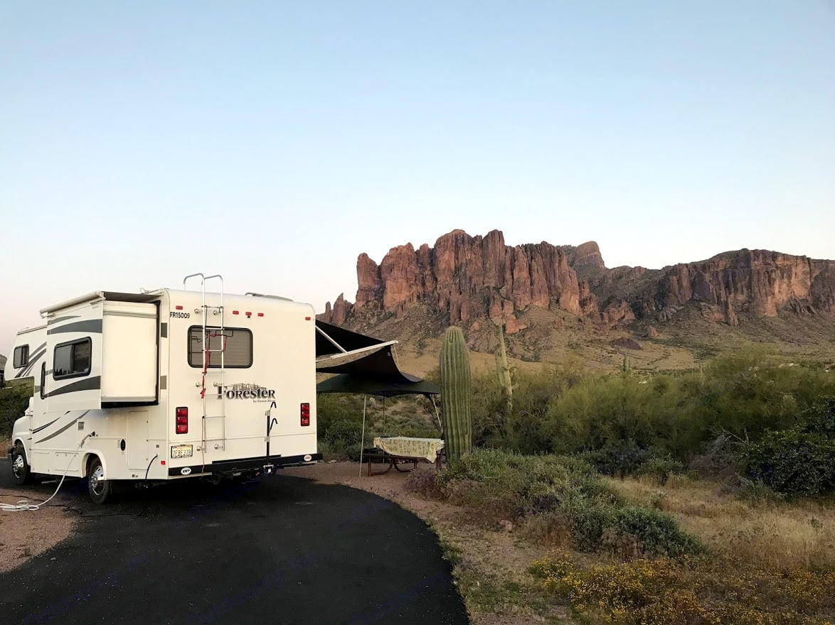 Best desert views and hiking trails.. Forest River Forester 2015