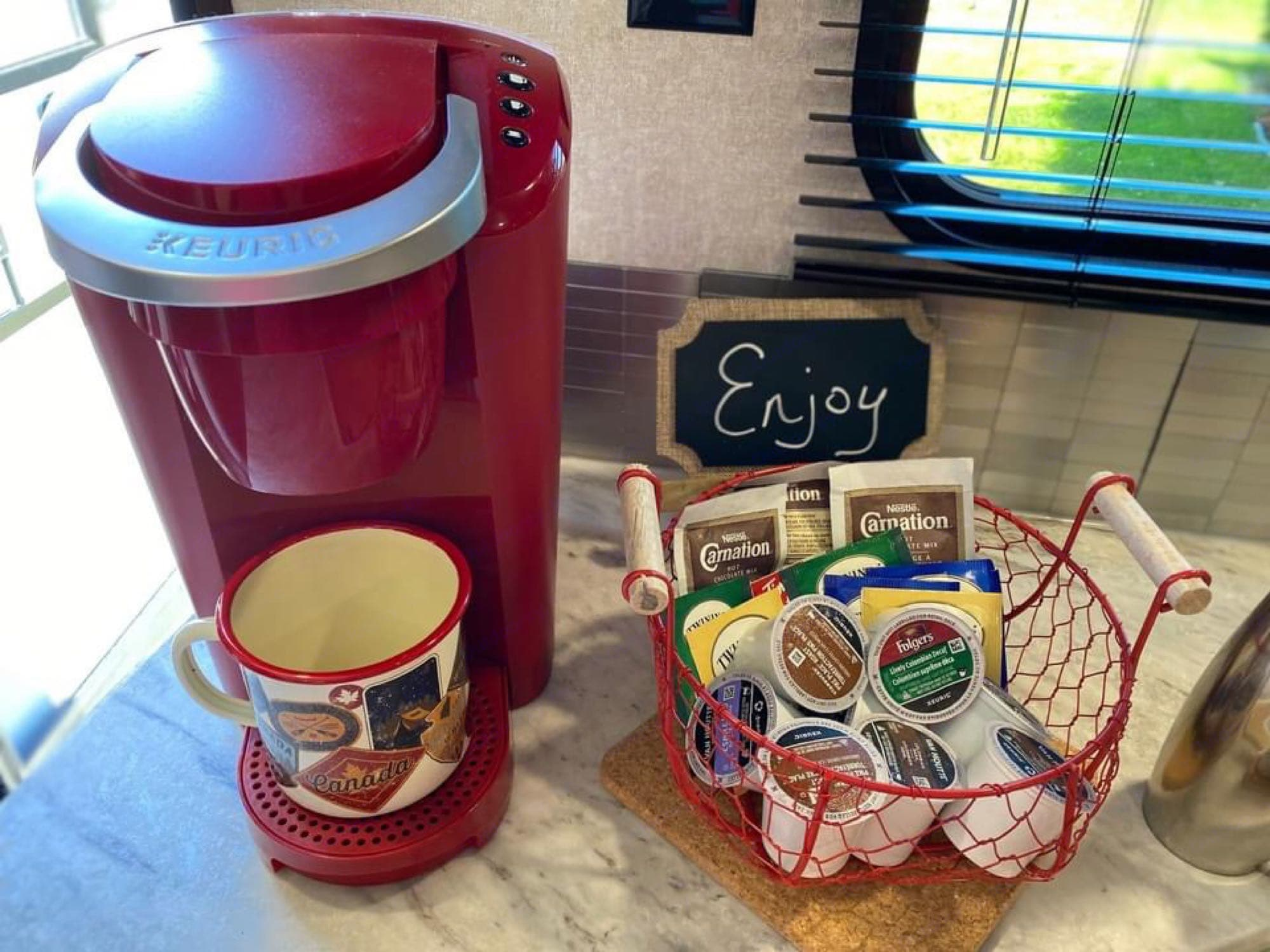 Need a coffee - enjoy!. Jayco Jay Flight 2019