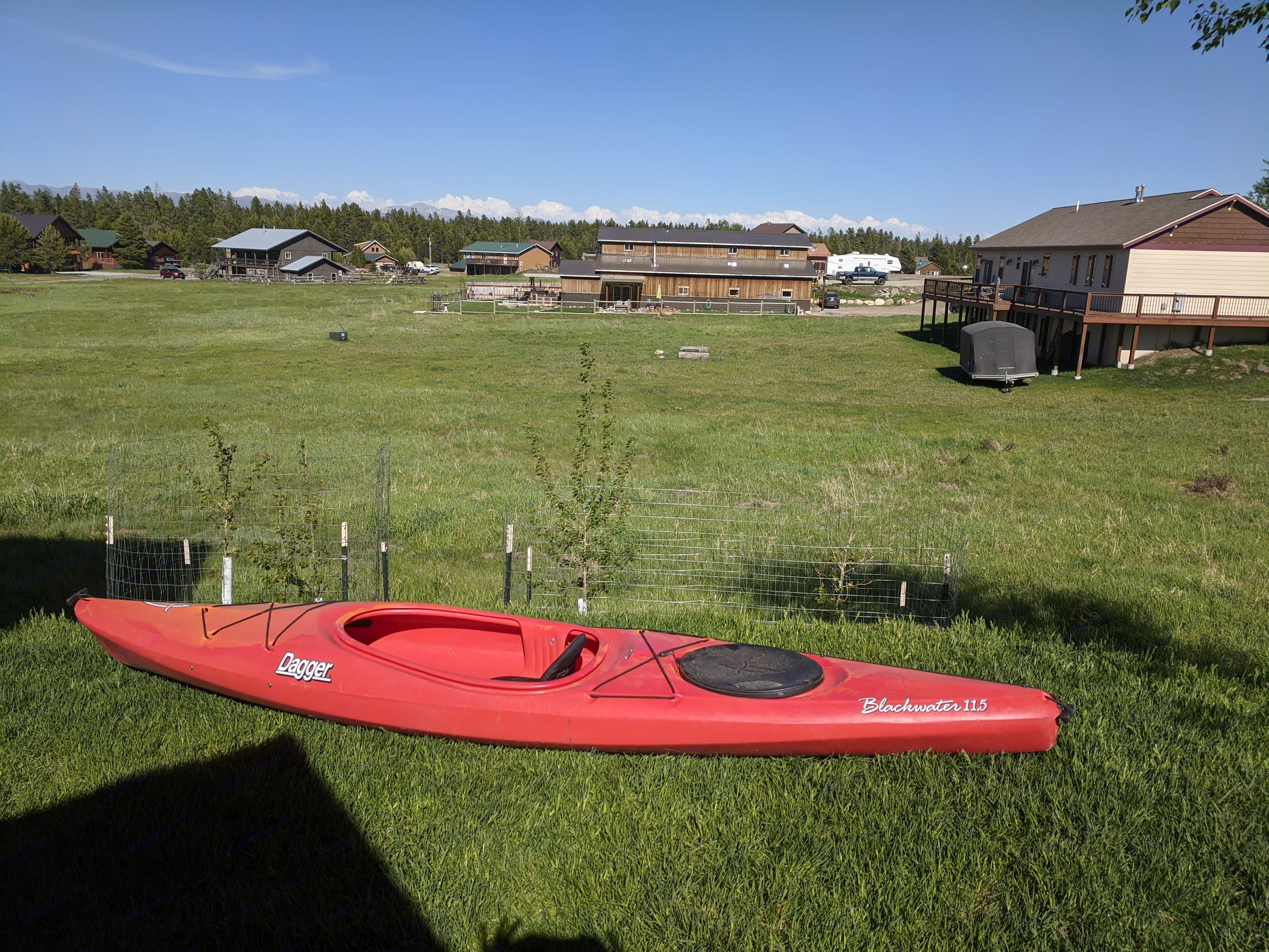We can include a pfd and paddle for this single person kayak.. Pleasant Valley Tag XL Boondock Edge 2020