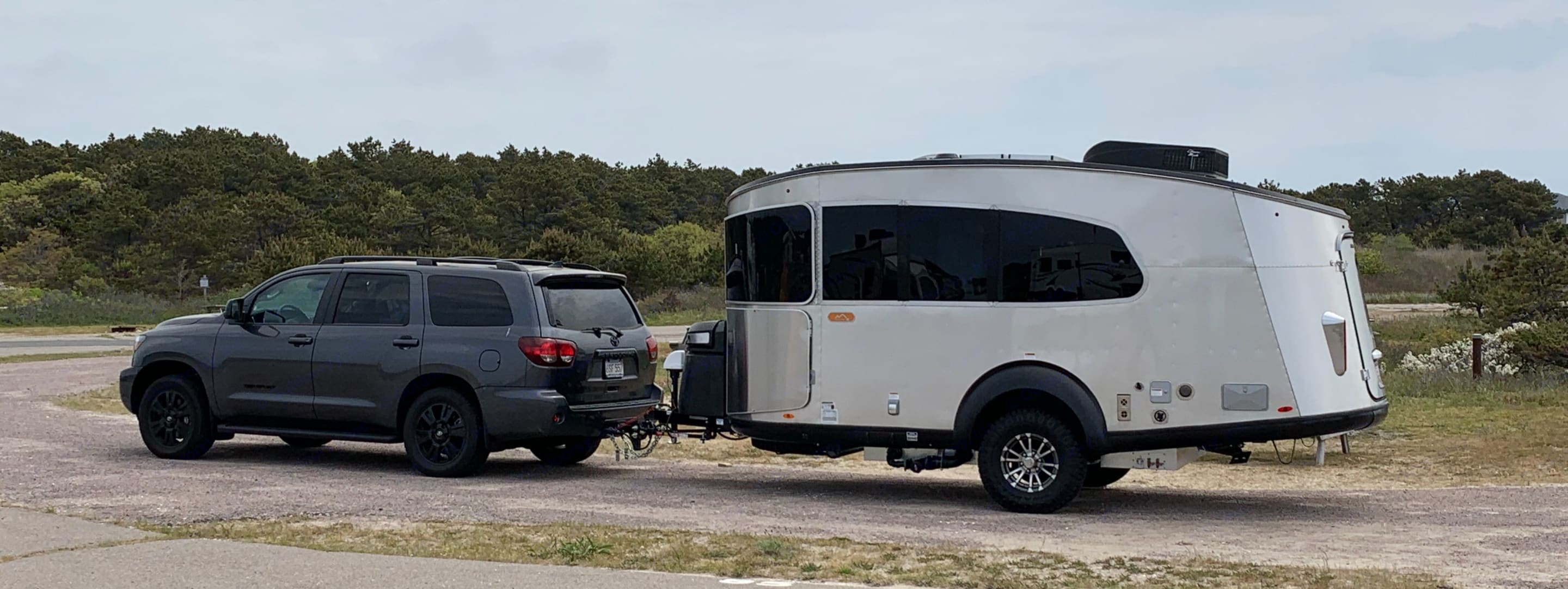 Eva is ready for your outing - rent our Toyota Sequoia if you need wheels (or leave the driving to us within 70 miles of boston)!. Airstream Base Camp 2021