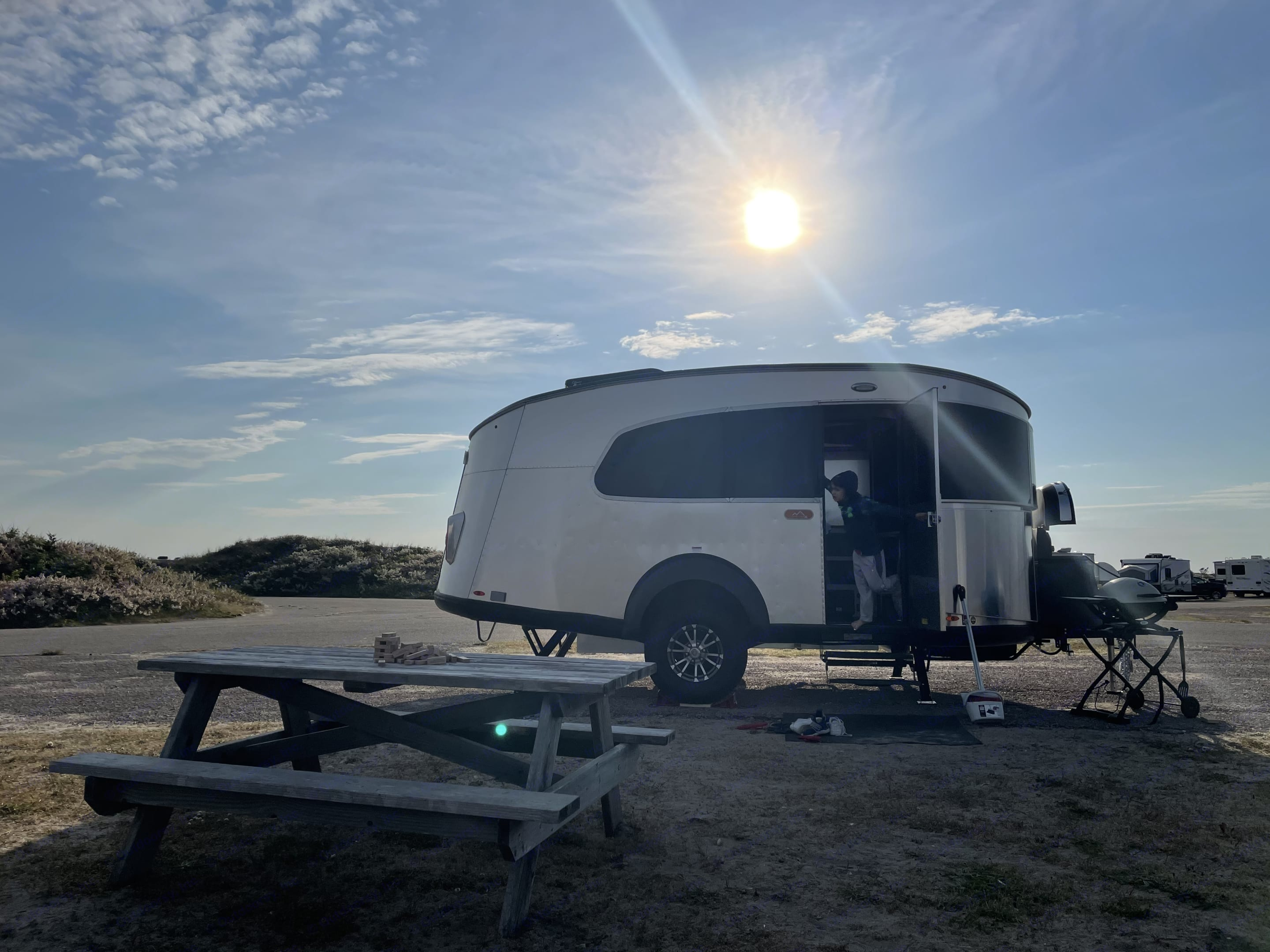 Wherever you want to go, take the basecamp with you. Airstream Base Camp 2021