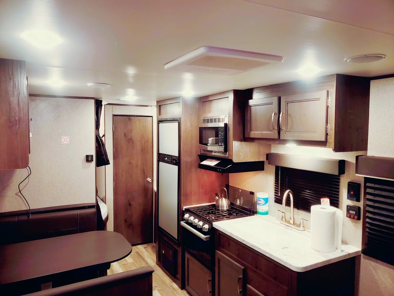 Floorplan shot of the common areas. This area has all that you need!. Jayco Flight 264BH 2021