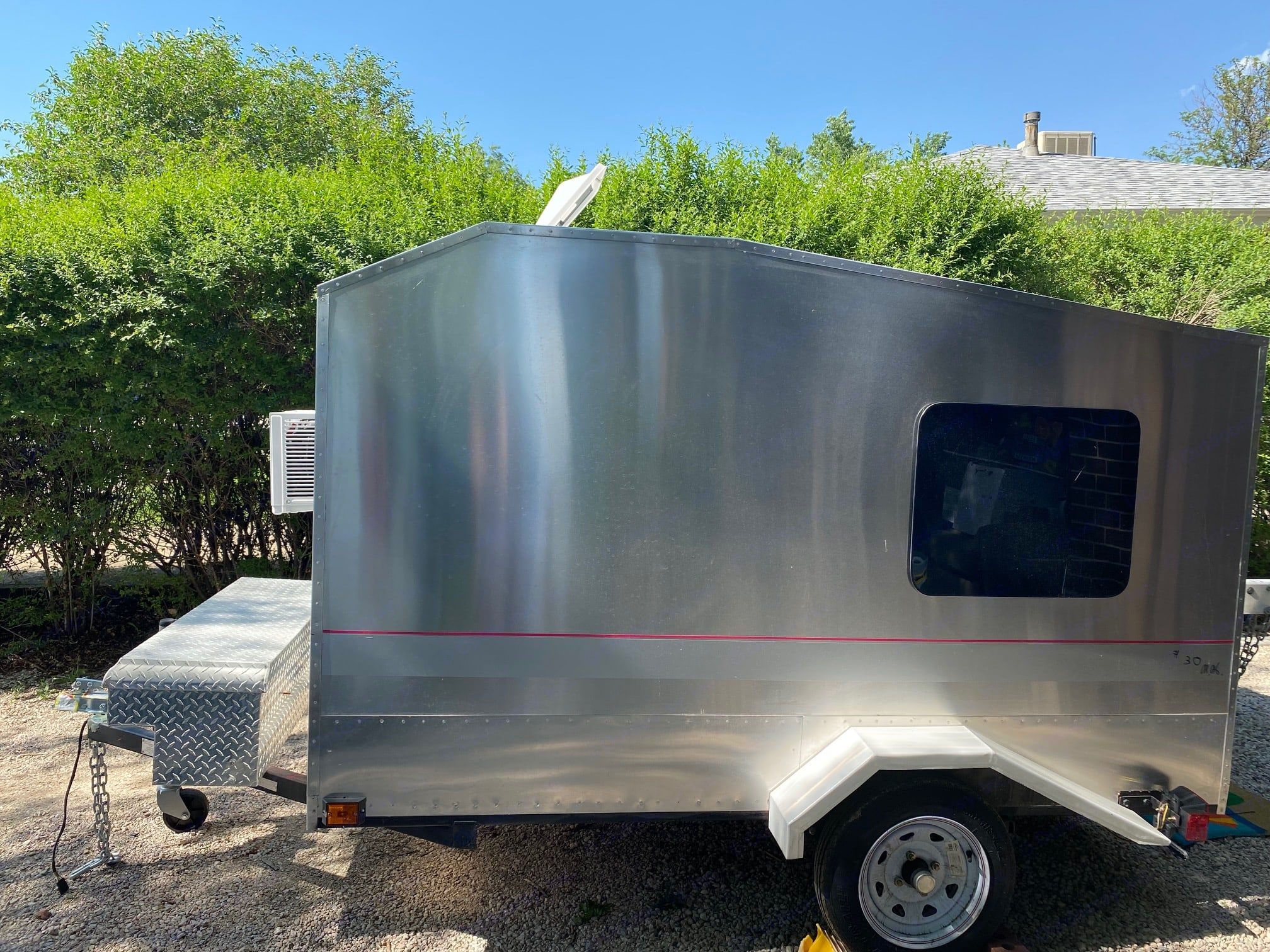 Light weight camper can tow with anything! . Custom Camper Trailer 2020