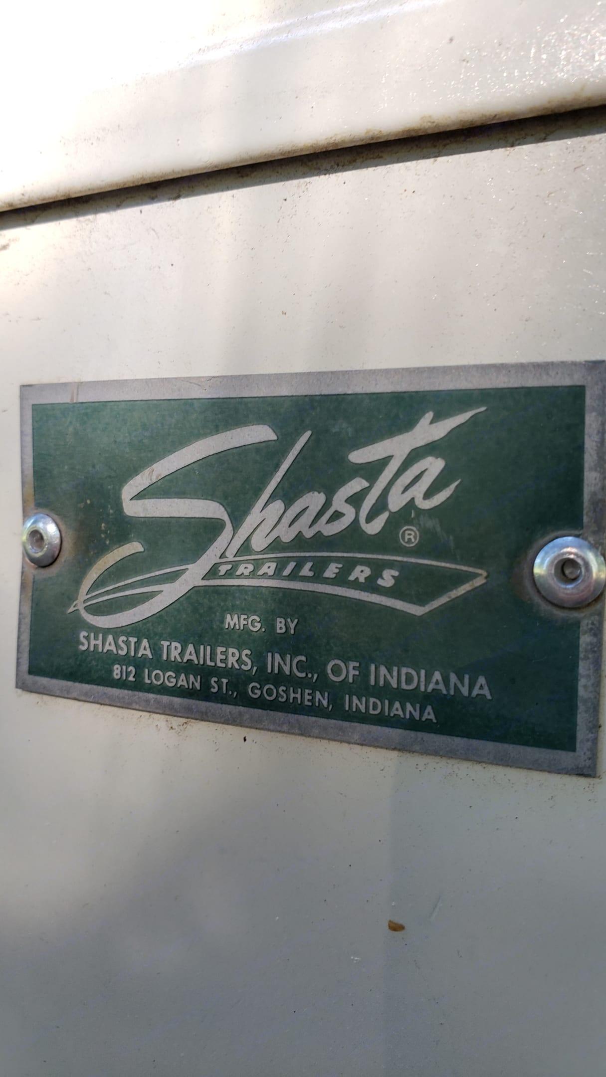 Shasta Airflyte 1960