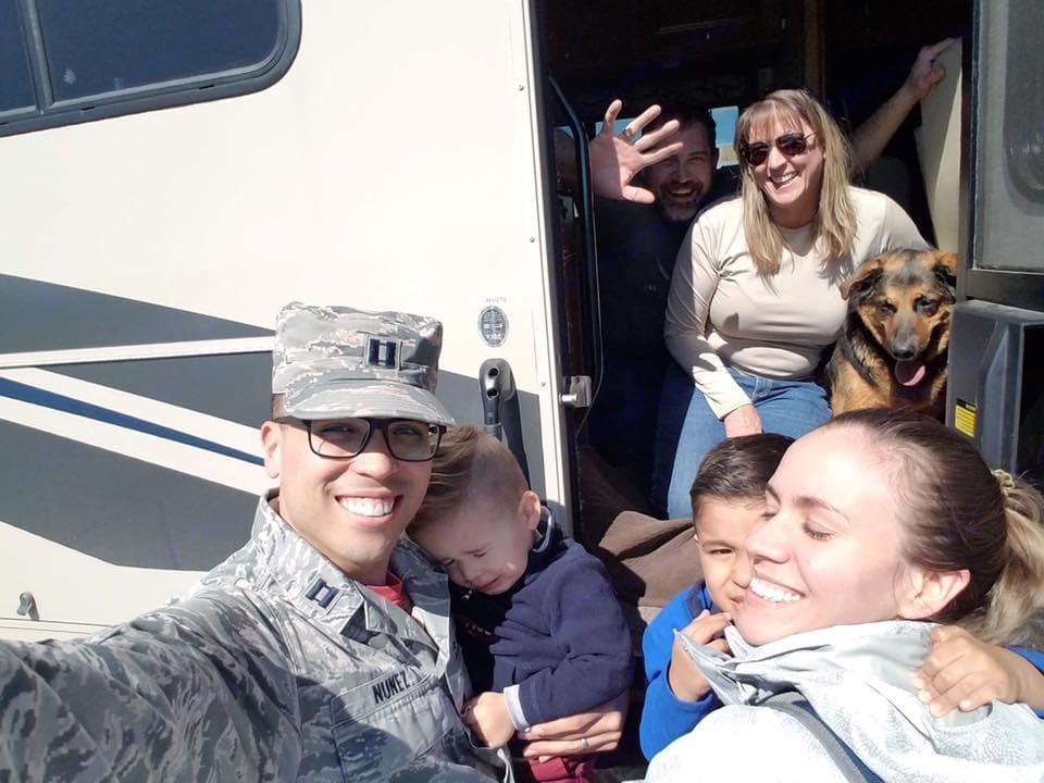 Plenty of room for all the family, four-legged family included!. Winnebago Vista 2018