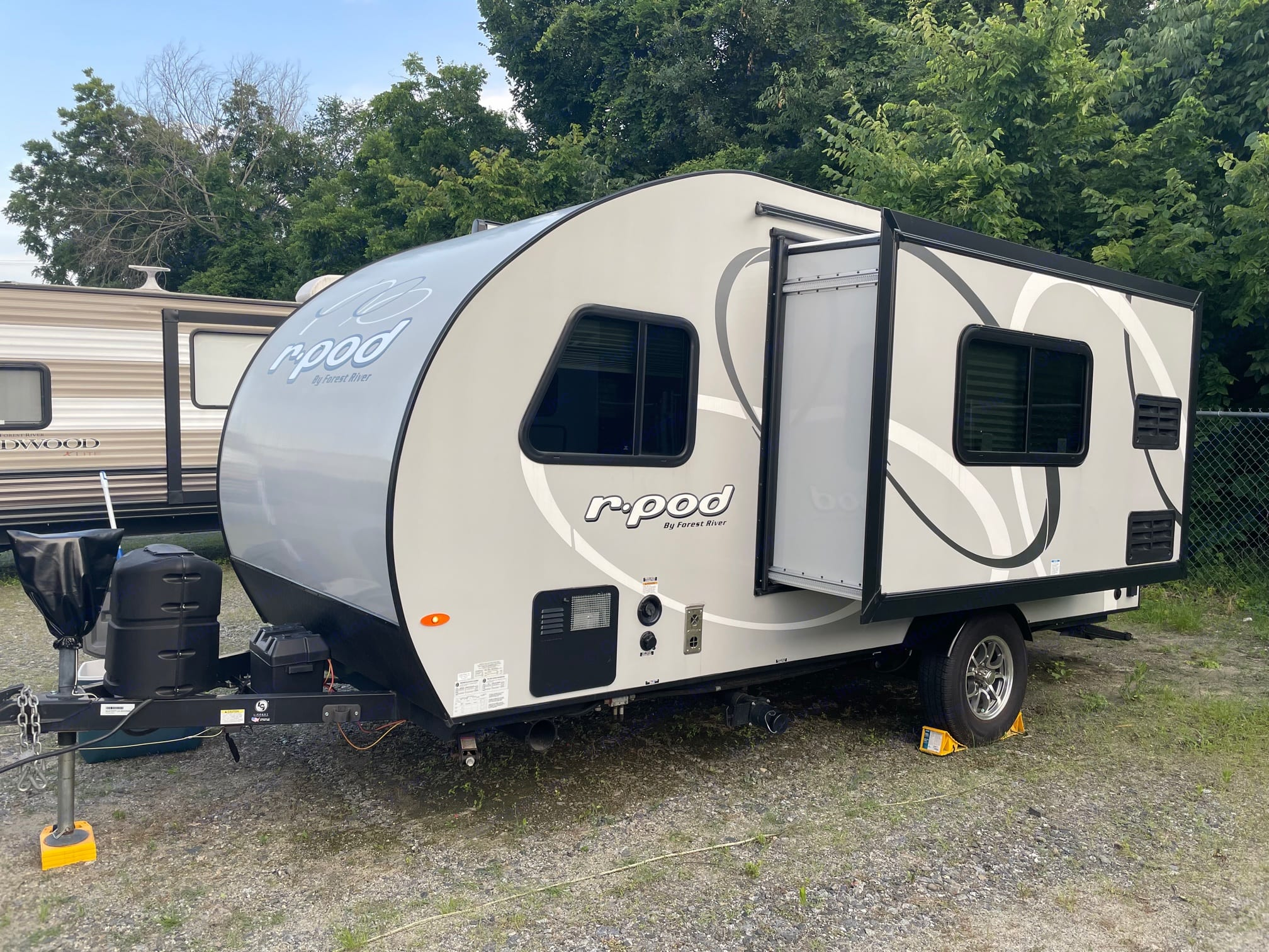Slide Out in Style. Forest River R-Pod 2020