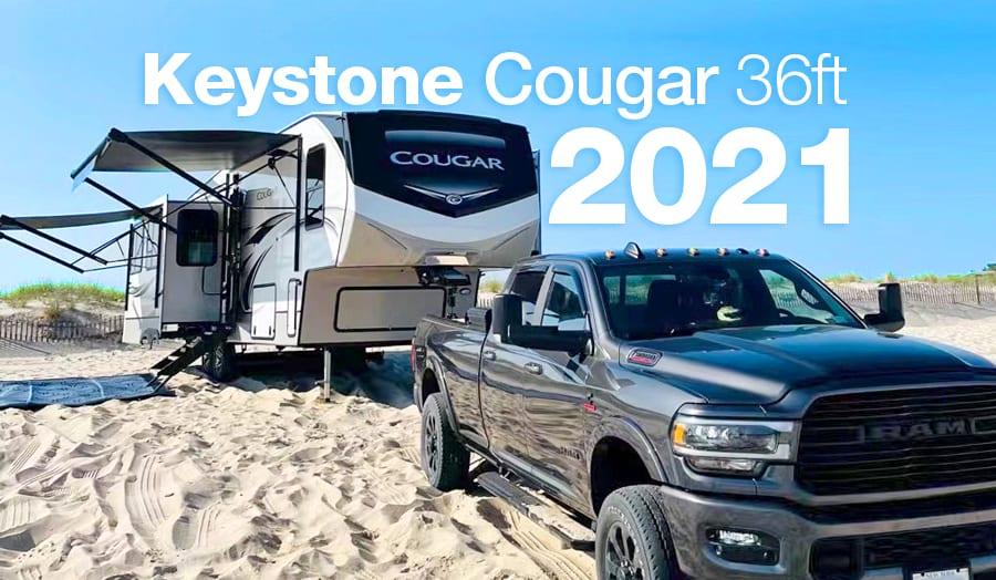 Shinncock East County Park. Keystone Cougar 2021