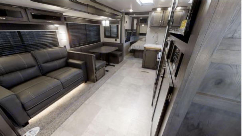View from the bunkbeds. Very roomy!!. Jayco Jay Flight 2020