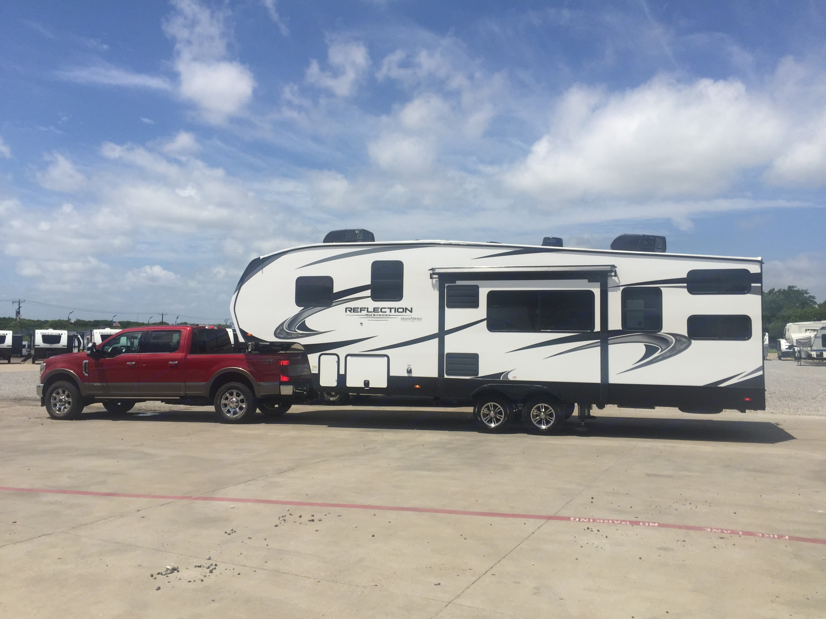 Reflection 150 Series towable 5th wheel. Grand Design Reflection 2021