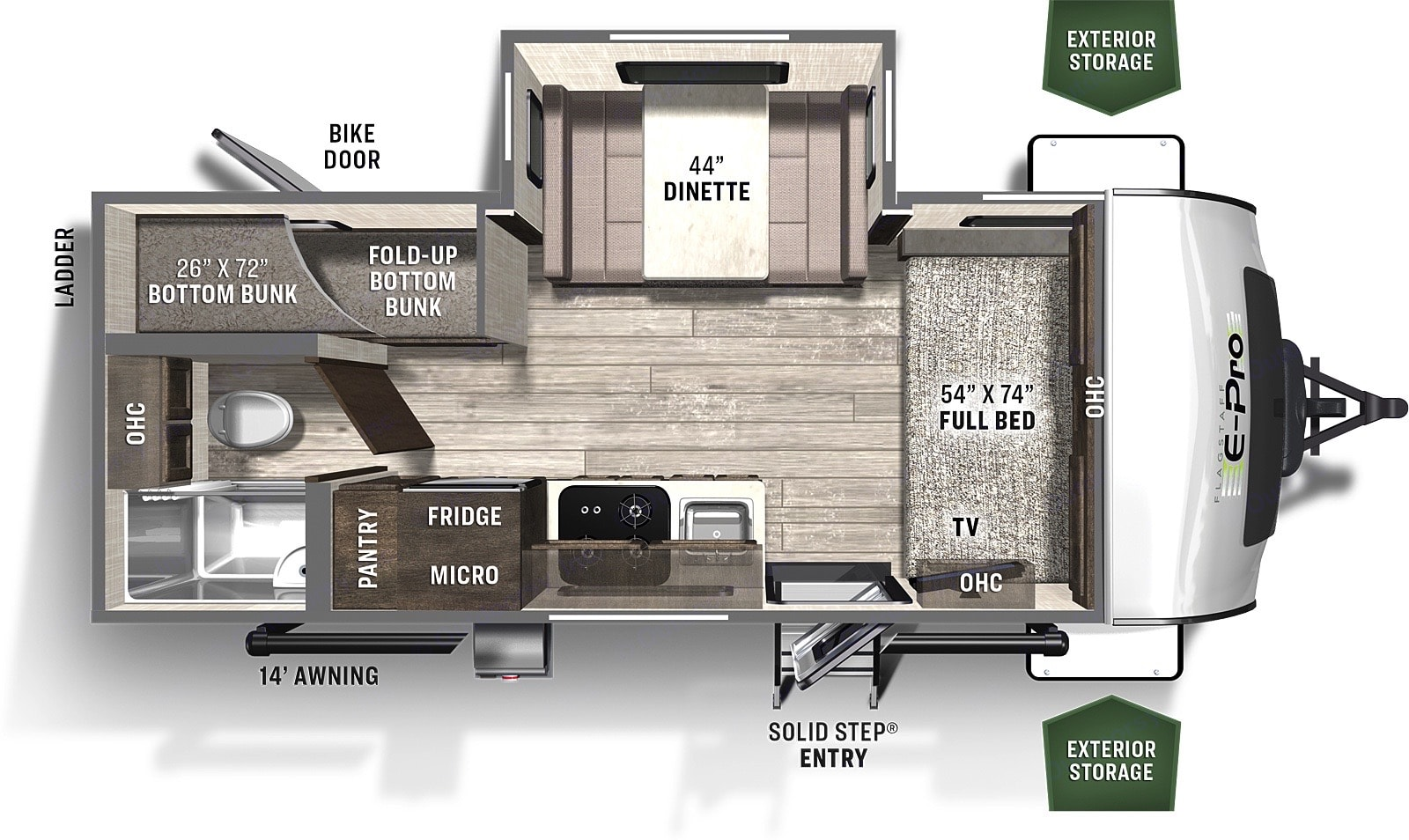 Flagstaff E-Pro 20 BHS 2021