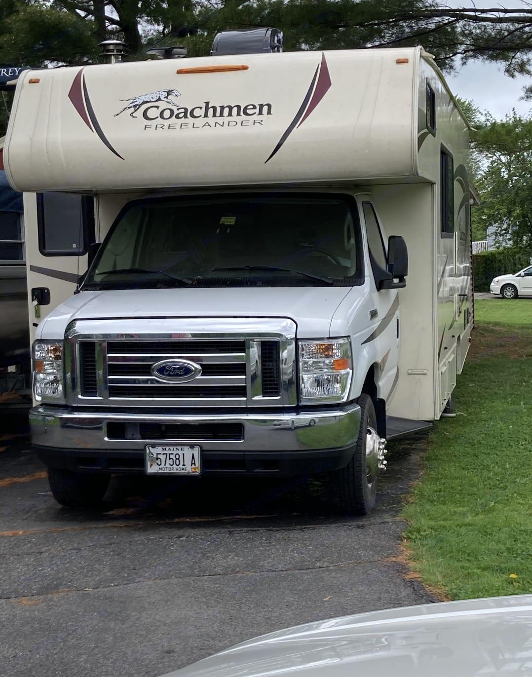 Ford Coachman Freelander 2019