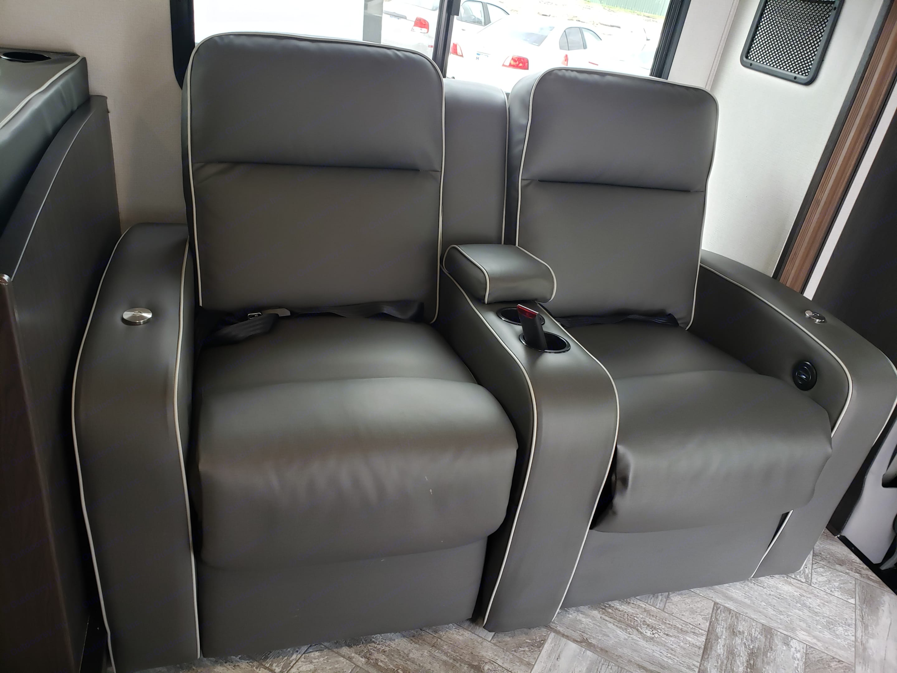 SS3010 Theatre Seat Reclining Captain Chairs. Forest River Sunseeker 2021