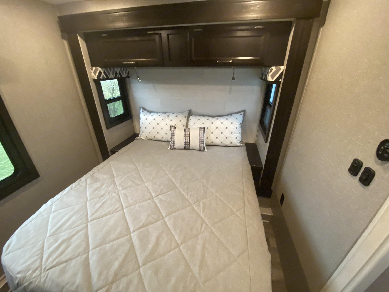 Greyhawk Bedroom. Jayco Greyhawk 2021