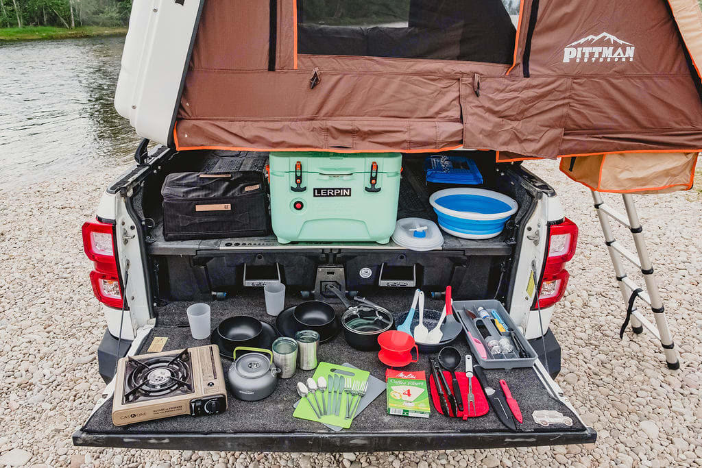 For outdoor camping it doesn't get any easier. We stocked the kitchen with everything needed to get your food needs prepared while you explore. . Other Other 2011