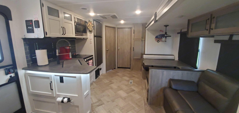 Living room, kitchen. Palomino Puma 2021