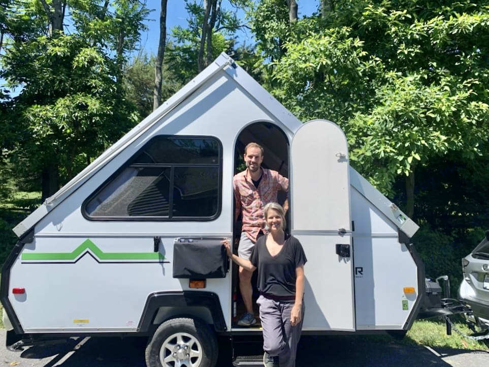 Happy campers!. A-Liner Scout 2021